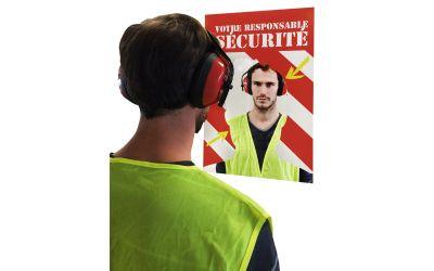Miroir de sécurité personnalisable V1