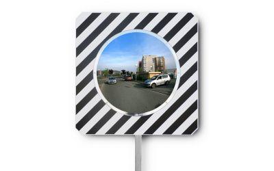 Miroir routier conforme - Gamme classique  - dimensions 600 mm