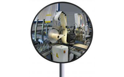 Miroir Multi-Usages rond spéciales agro-alimentaires - Garantie 10 ans - 600 mm