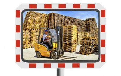 Miroir pour l'Industrie - Garantie 3 - 6 ou 10 ans - dimensions 400 x 600 mm