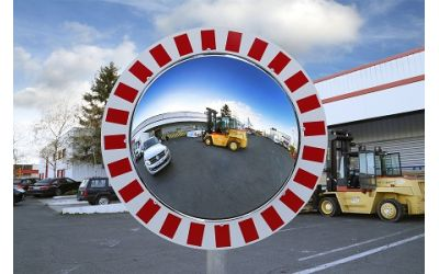 Miroirs pour l'Industrie vision à 180° - Garantie 3 et 6 ans - diamètre 600 mm