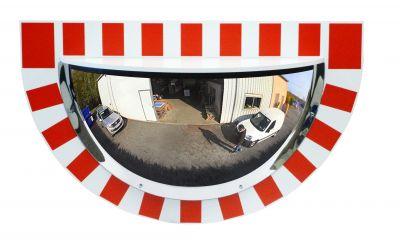 Demi-miroir pour l'Industrie vision à 180° - Garantie 3 et 6 ans - 1/2 600 mm