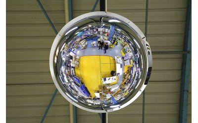 Miroir hémisphérique Vision à 360°