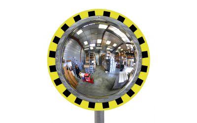 Miroir de contrôle de sécurité vision à 180°