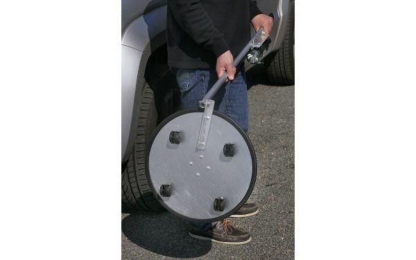 Miroir d'inspection sur roulette - dimensions 340 mm