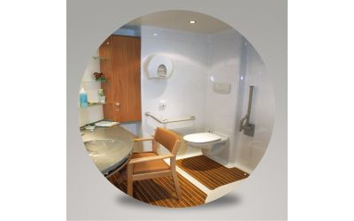 Miroir en plexichok épaisseur 5 mm - diamètre 600 mm