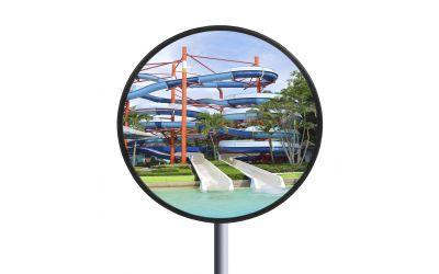 Miroir de surveillance en INOX diamètre 600 mm