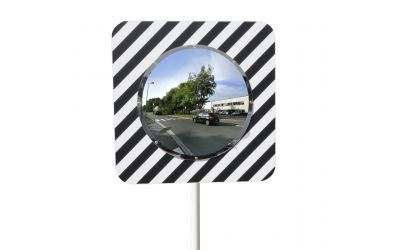 Miroir routier Economique rond - garantie 3 ans - dimensions 600 mm