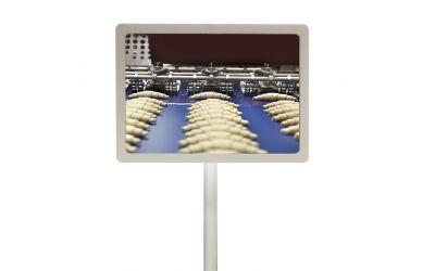 Miroir plats de controle de précision rond - dimensions 390 x 490 mm