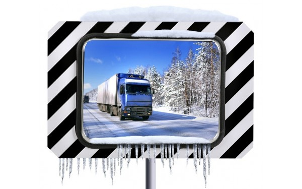 Miroirs routiers antigivres