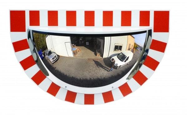 Demi-miroirs d'industries panoramiques vision 180°