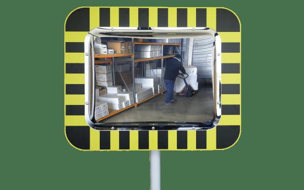 Miroirs de contrôle pour entrepôts et logistique vision 90°