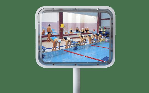 Miroirs de piscines et espaces aquatiques