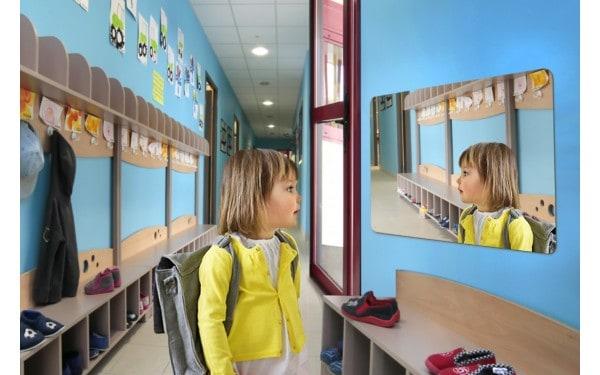 Miroirs plats pour sanitaire
